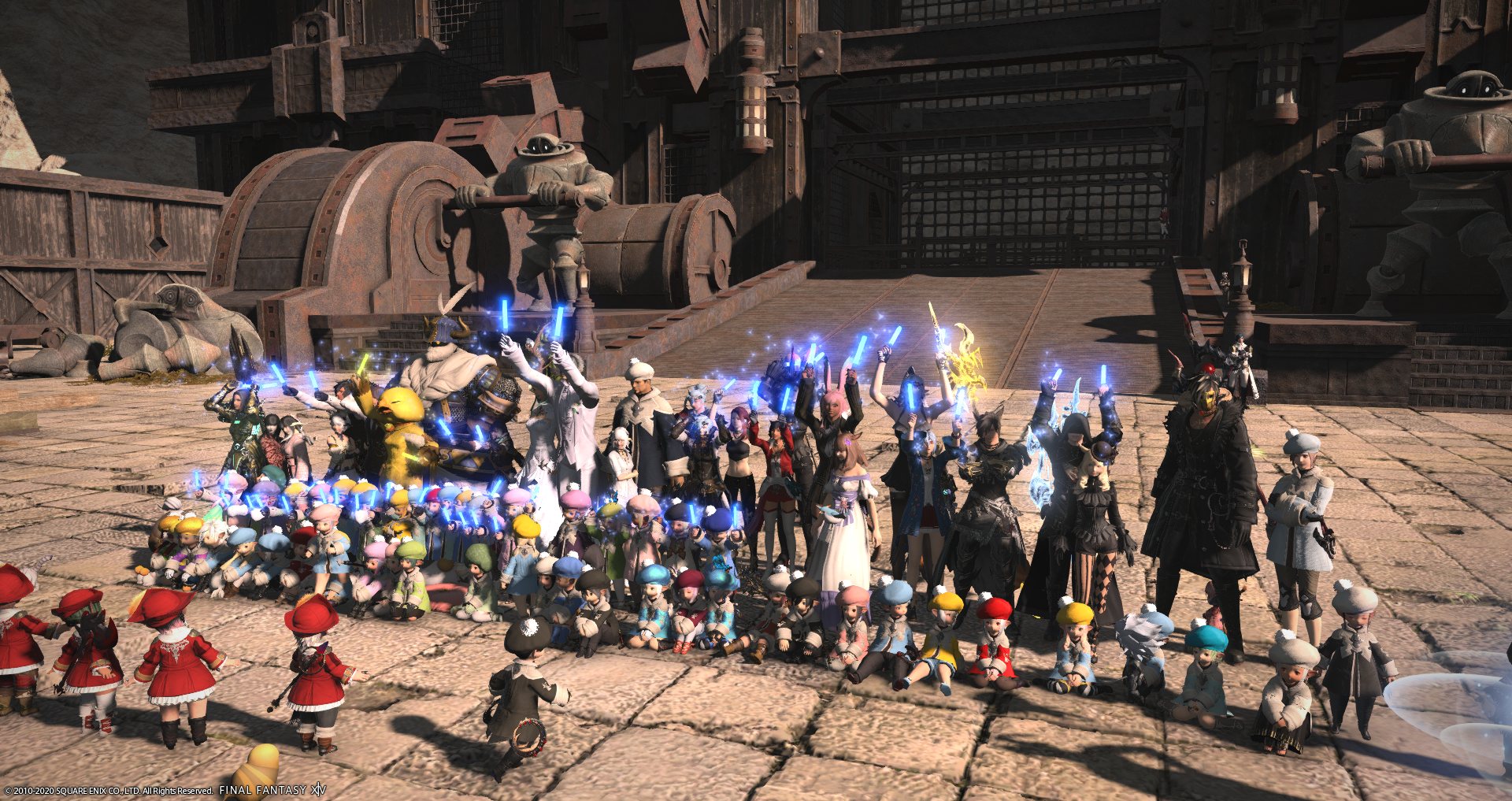 The 7th Tonberry Lalafell Walk - 2020